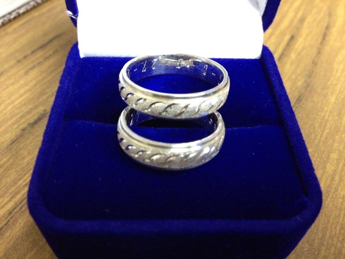 8aa0b2876716 aros de bodas compromisos matrimonios fabricados en plata .. Cargando zoom.