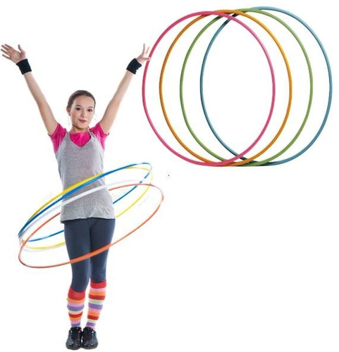 aros de gimnasia rítmica hula hula 80cm. unidad/ green sport