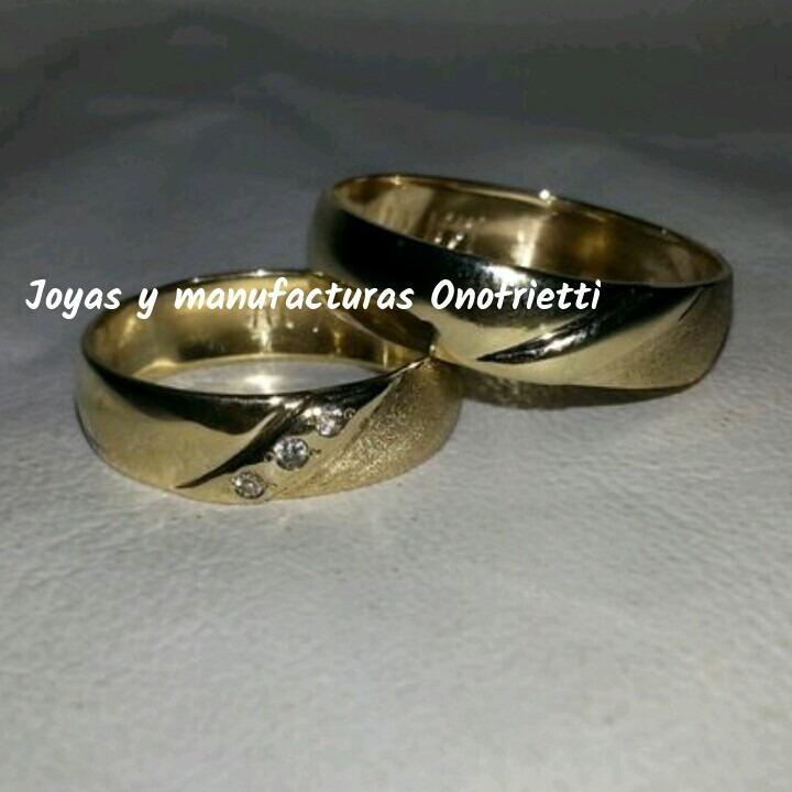 a4ca1417a8fd Aros De Matrimonio En Oro 10k Precio Por Gramo - Bs. 150.000
