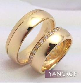 el más nuevo abbca 9293d Aros De Matrimonio En Oro18k / Joyas Yancrof