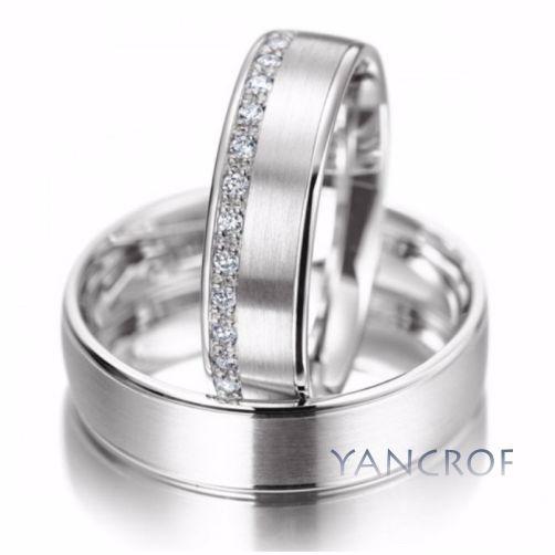 77077ede58bc Aros De Matrimonio En Plata 950   Yancrof Joyas - S  280