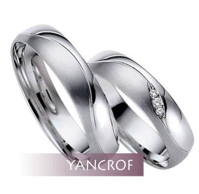 aros de matrimonio en plata 950 / yancrof joyas
