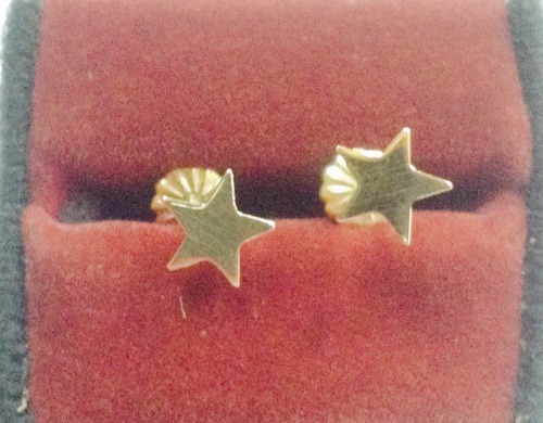 aros de oro 18 ktes estrellas psp gps