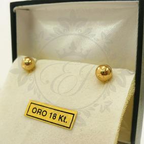 d024b42d8d10 Aros Con Bolas De Oro Mujer en Mercado Libre Argentina
