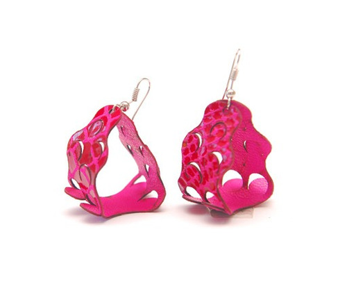 aros escamas (rosado)