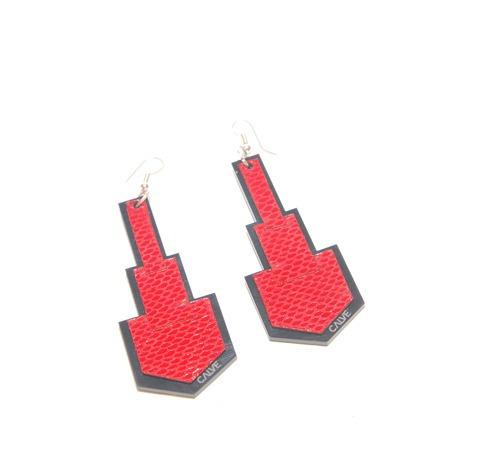 aros flecha (rojo, detalles en gris stone)