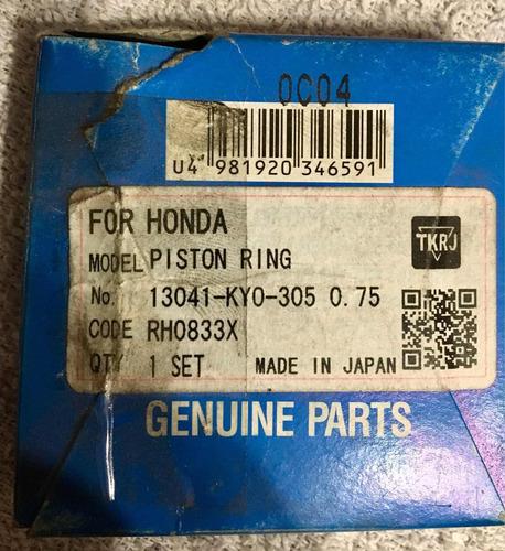aros juego completo honda titán 0,75 ring -japon