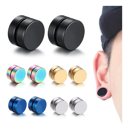 aros magnetico tipo piercing iman sin perforación unidad