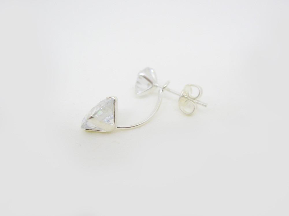 a3c4d8751cdf aros mujer abanico trepadores magnifique- plata. nuevos! Cargando zoom.