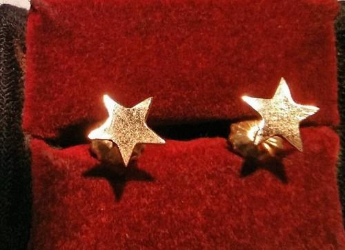 aros oro 18 ktes estrellas