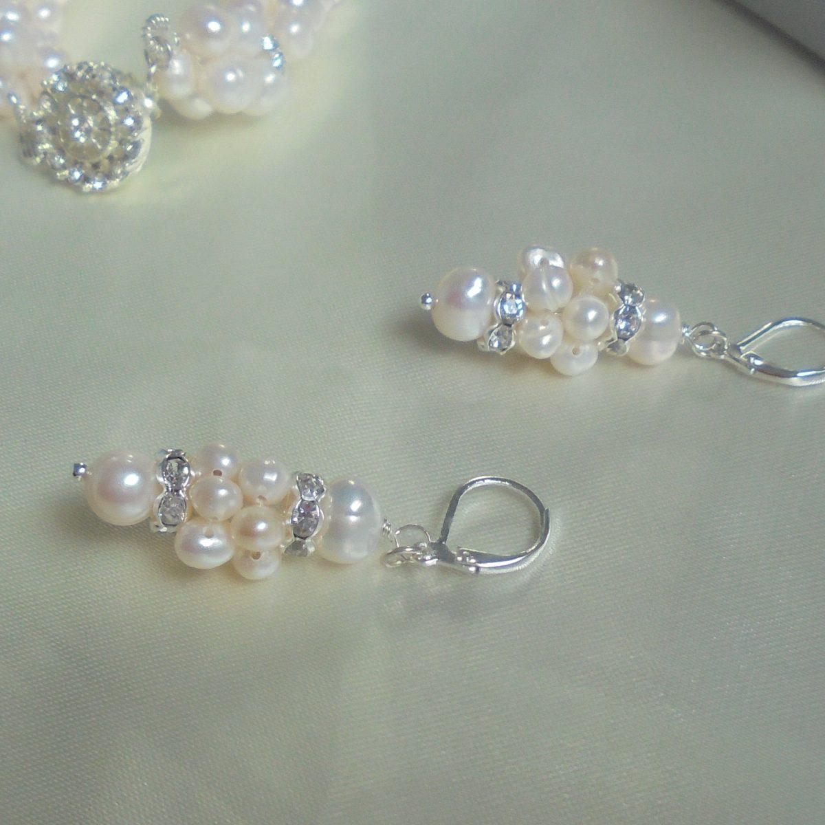 fc9c202c57a6 aros perlas naturales y strass novias quince madrinas. Cargando zoom.