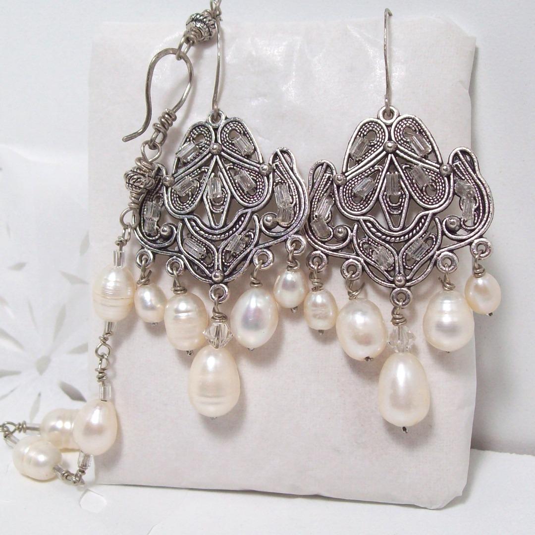 fa60a7e81a8c aros pulsera perlas novias casamientos alpaca regalo mujer. Cargando zoom.