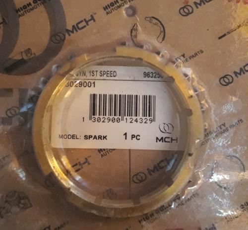 aros sincronicos para caja de spark