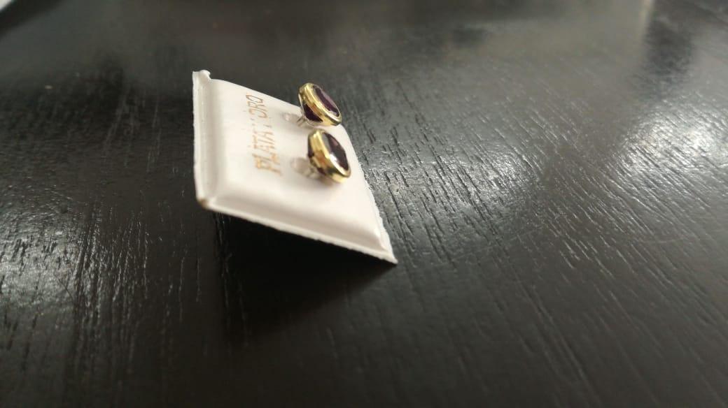 382e199af7e9 aros susano oro 18 kilates y plata 925 cúbic 6 mm rosca. Cargando zoom.