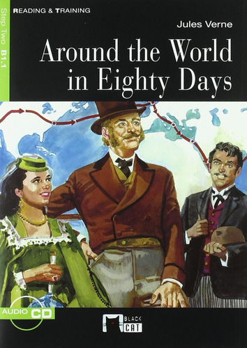 around the world in eighty days b1.1 r & t vicens vives w/cd