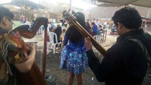 arpa para cumpleaños  serenata lima    (folkore) huayno