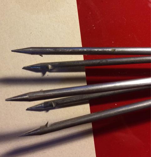 arpón hawaiano en aluminio para pesca y buceo, cinco puntas