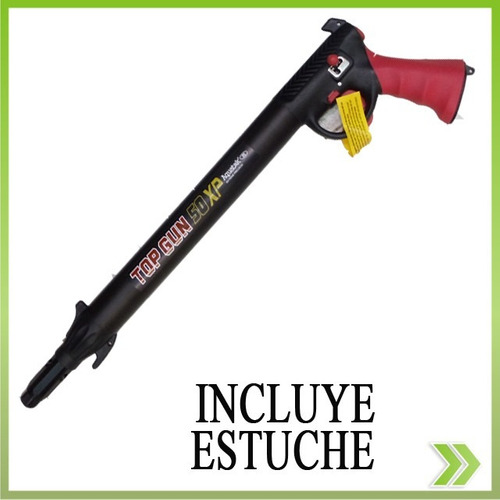 arpon neumatico aquagear  frances 50 lb flecha bomba estuche