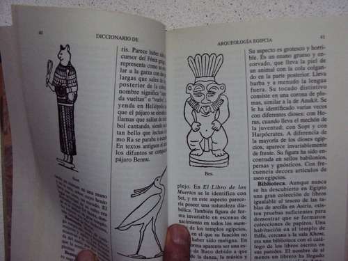 arqueologia egipcia  /(diccionario)