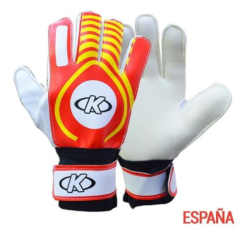 arquero fútbol guantes
