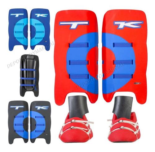 arquero hockey tk t1 completo alto rendimiento protectores