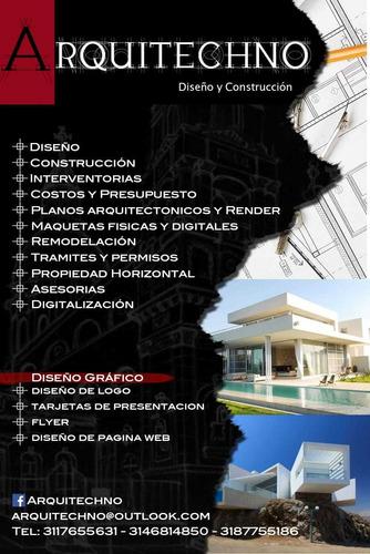 arquitechno diseño y construcción