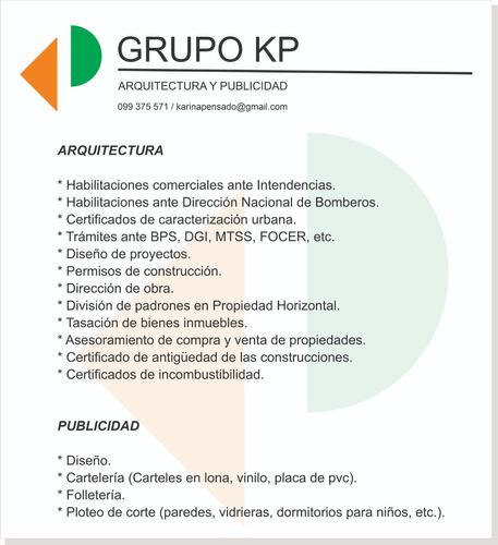 arquitecta, caracterización, habilitación, regularizaciones,