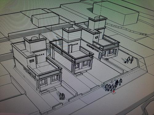 arquitecta roxana torres /   planos en  sierras de córdoba.