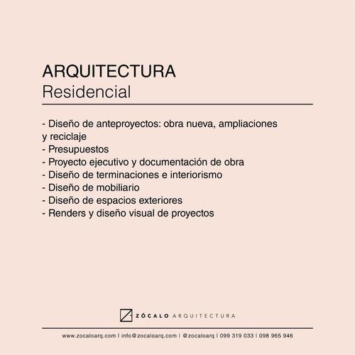 arquitecto | caracterización urbana, bps, regularizaciones