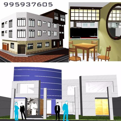 arquitecto, diseño, remodelación planos- locales comerciales