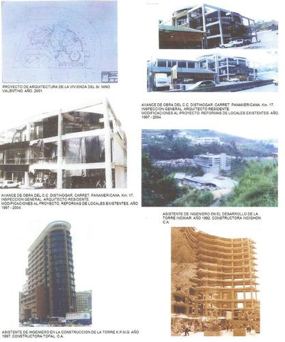 arquitecto experto..proyectos, remodelaciones, asesorias.