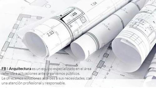arquitecto habilitación comercial regularizaciones reformas