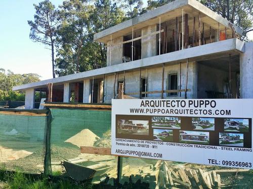 arquitecto maldonado, punta del este. construcción de casas