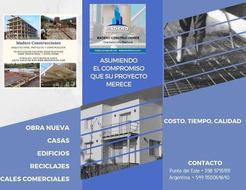 arquitecto proyecto construccion obra tradicional steelframe