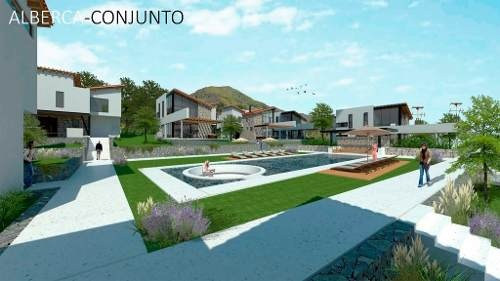 arquitectura de vanguardia, proyecto incorporado a la naturaleza.