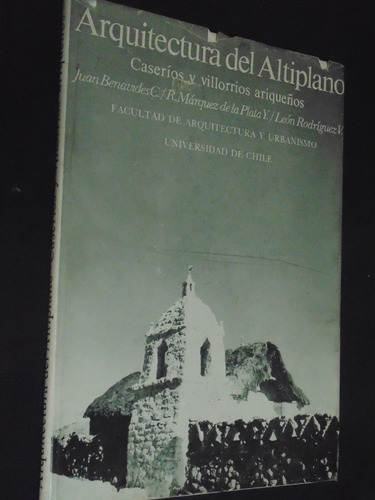 arquitectura del altiplano juan benavides
