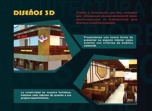 arquitectura interiores restaurantes pollerias remodelacione