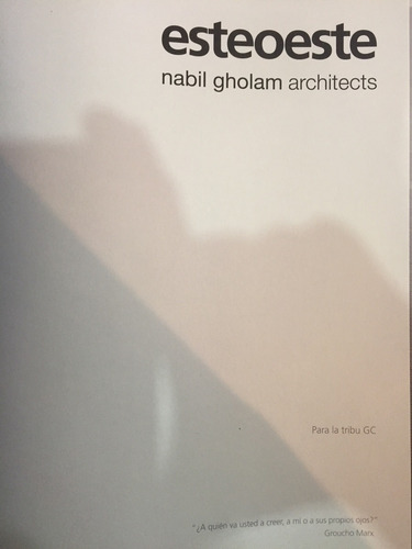 arquitectura nabil gholam architects