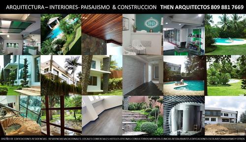 arquitectura  y paisajismo / diseño, supervisión, ejecucion