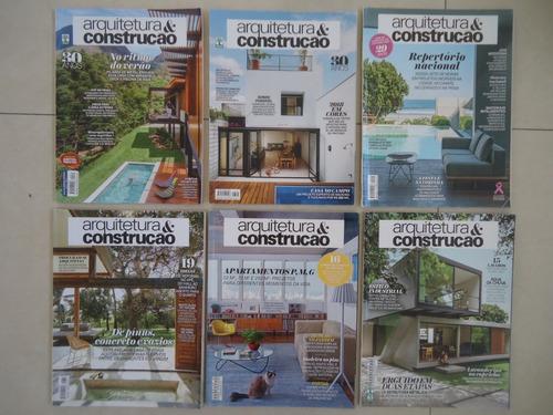 arquitetura e construção anos 2015-2019 preço por revista
