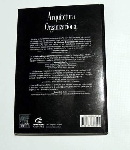 arquitetura organizacional nadler gertein shaw