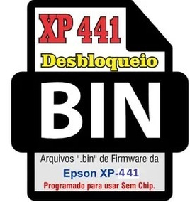 Arquivo Bin Chipless Eeprom Epson Xp-441 Sem Chip