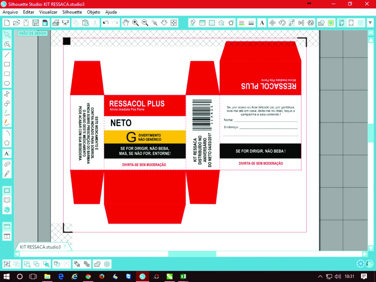 arquivo silhouette studio kit ressaca totalmente editável. Carregando zoom. adbe6d046b