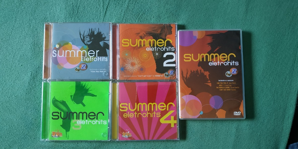 summer eletrohits 1 2 3 4