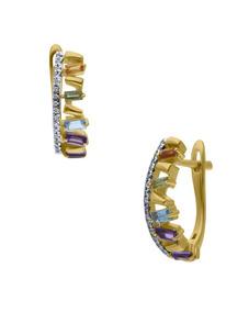 485a1f2fc3c3 Arracadas De Oro Con Diamantes - Joyas y Relojes en Mercado Libre México