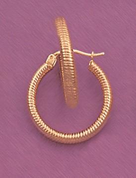 arracadas linea diamantada 14k oro aretes