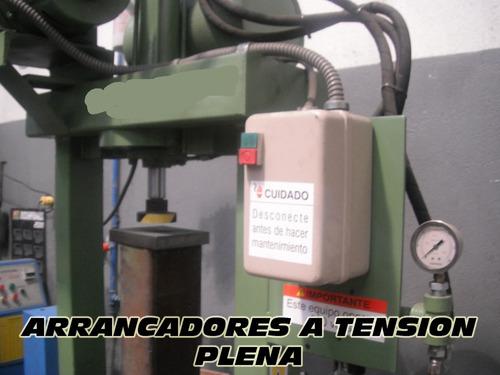 arrancador a tension plena desde 1 a 60 hp
