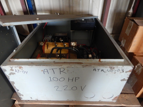 arrancador a tensión reducida 100 hp 220 v