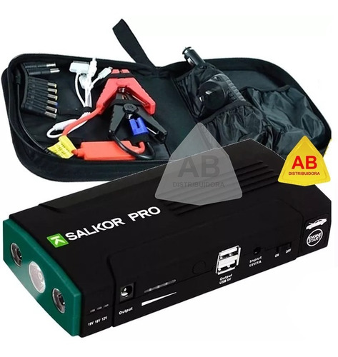 arrancador auto cargador bateria portatil 13.800 mah celular