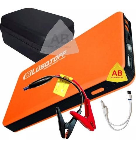 arrancador auto moto cargador celular portatil 300a lusqtoff